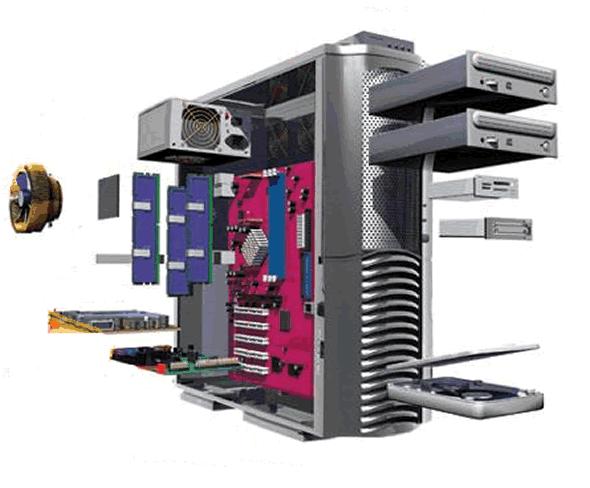 K2-TIM Vgradnja komponent